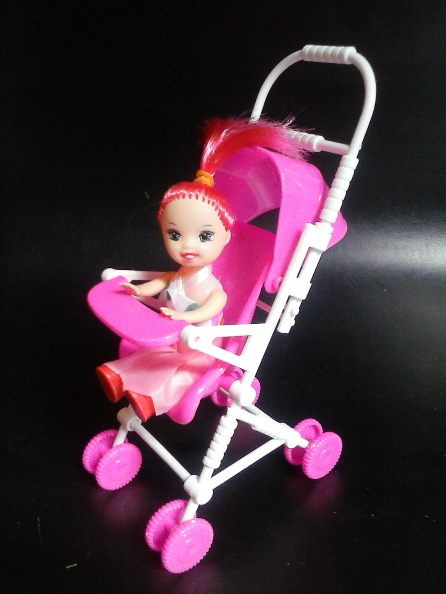 aef4b68e9 Coche De Bebe Para Muñeca Barbie Juguete Niña Accesorio - Bs. 440 .