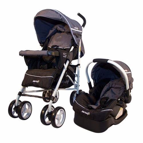 coche de bebé travel system paragua + huevito avanti street