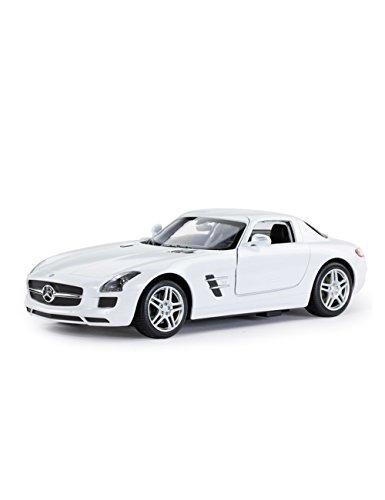 coche de control remoto rastar, mercedes-benz sls amg rc toy