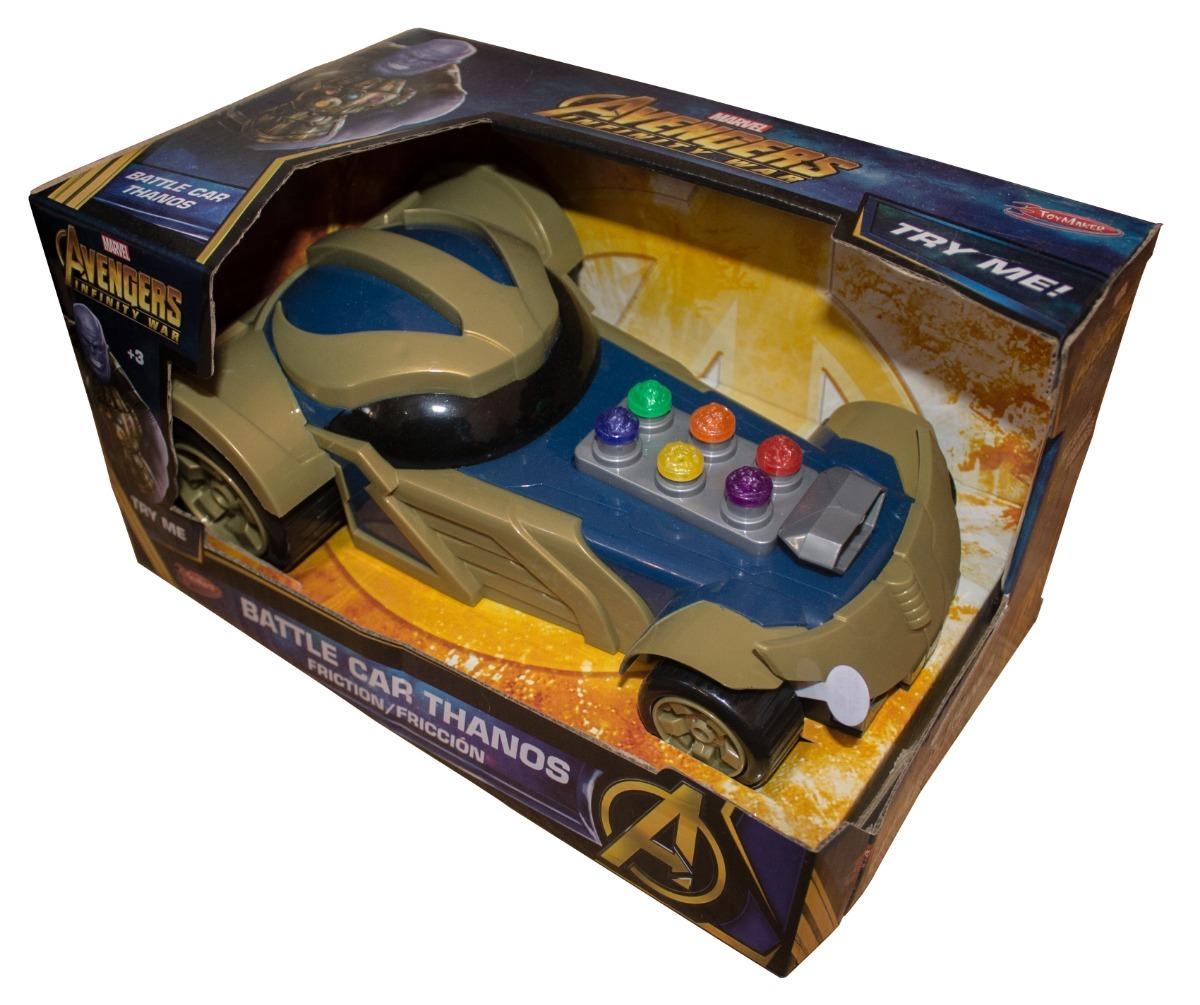 Avengers Coche Thanos Fricción De Marvel Juguete Auto WQrCxeBoEd