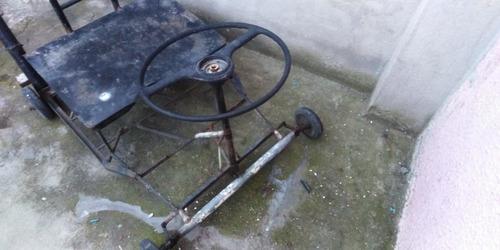 coche de metal para carga o coche de carreras