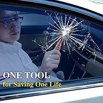 coche de seguridad martillo conjunto de 2, ventana breaker,