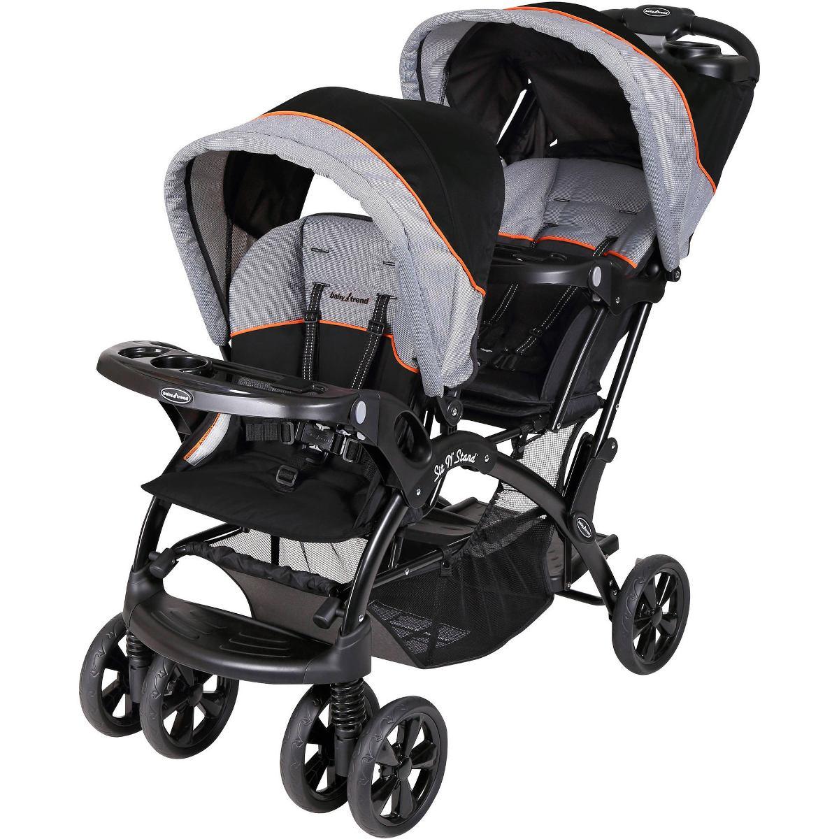 f2988cff7 Coche Doble Para Bebé Baby Trend - $ 952.550 en Mercado Libre