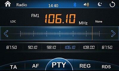 coche dvd gps de navegación head unit, unidad radio tv ipod
