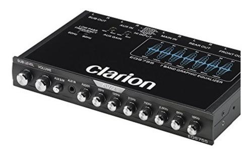 coche ecualizador gráfico audio control de sonido digital 7