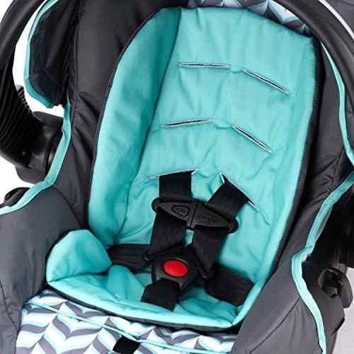 coche evenflo  con porta bebe