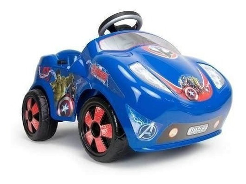 coche fire avengers electrico 6v montable infantil injusa