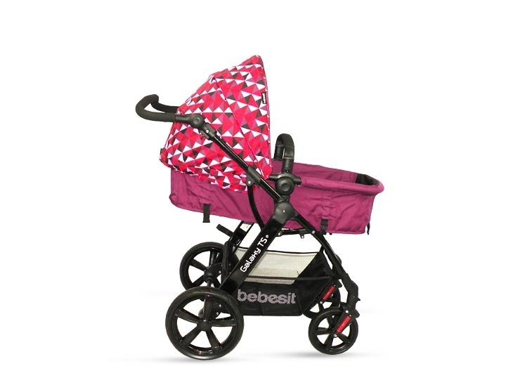 Coche galaxy ts silla porta beb de auto nuevo s 550 for Coches de bebe con silla para auto