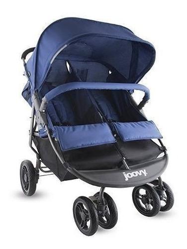 coche  gemelos doble para bebes joovy 8071 color