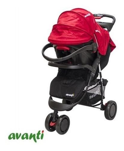 coche jogger avanti travel system 3 ruedas macco huevito