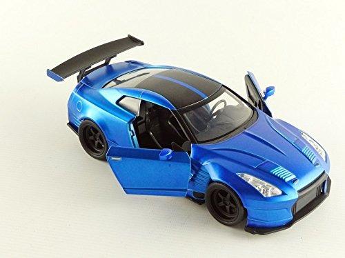 Coche Juguete Jada Nissan Gtr R35 Azul Rapido Y Furioso 109 900