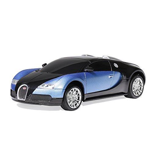 Coche Juguete Rc De Radio Control Remoto Bugatti 1 24 125 900 En
