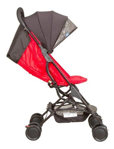 coche mochila zippy de lujo red infanti + regalo