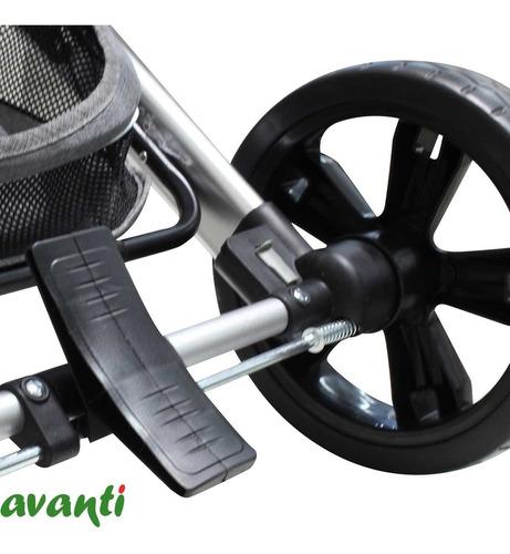 coche moises huevito travel system avanti aluminio 3 en 1