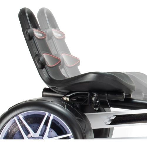 coche montable go kart pedales  mercedes regalo injusa niños