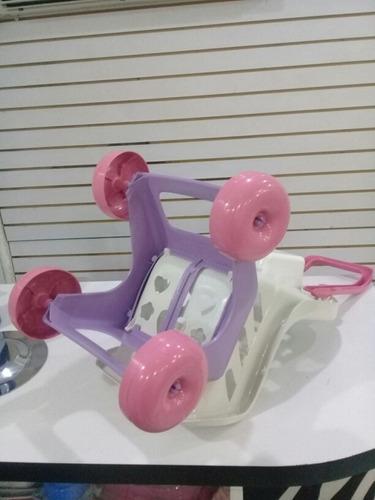coche + muñeca con sonido juguete niñas importado