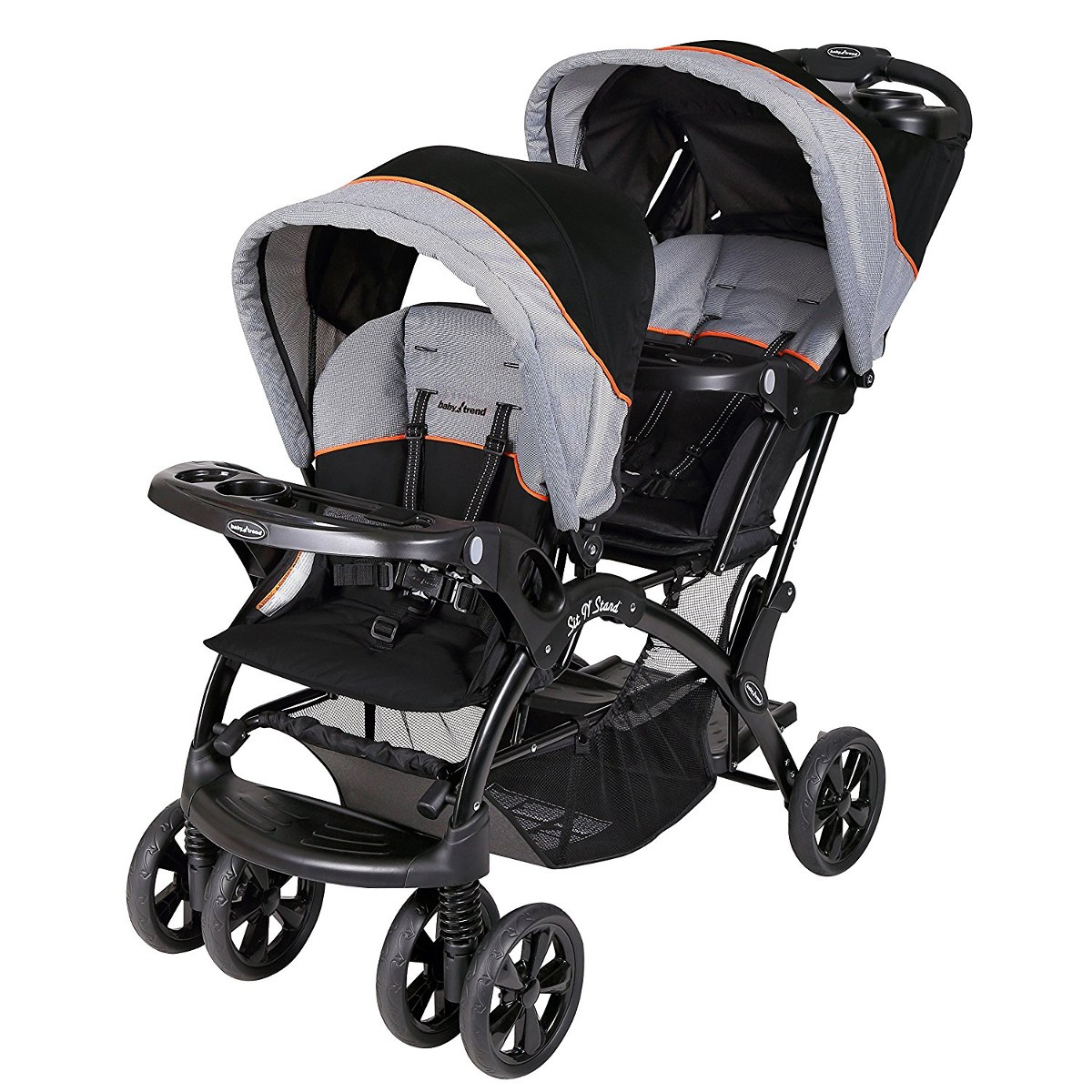 37546c0b4 coche para bebe baby trend sit 'n levante coche doble, mille. Cargando zoom.