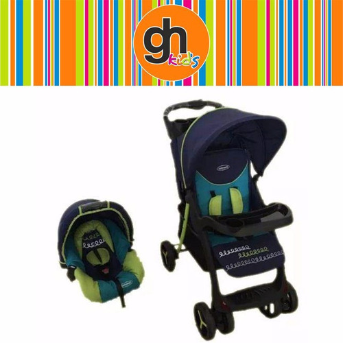 coche para bebe bebesit lisboa con sillita gh.equipami