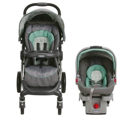 coche para bebé con silla para auto graco stylus