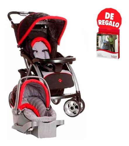coche para bebe con silla para auto saunter lux safety
