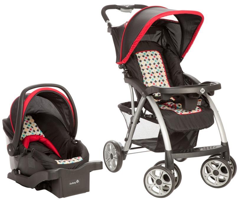 Coche para bebe con silla para auto saunter safety u s for Sillas para bebes coche