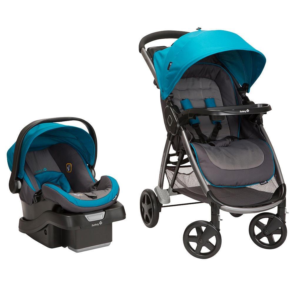 Coche para bebe con silla para auto step and go azul for Sillas para bebes coche