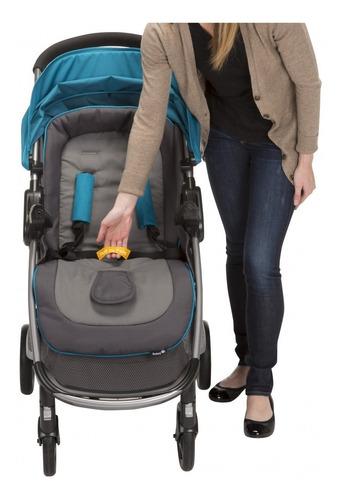 coche para bebe con silla para auto step and go azul safety