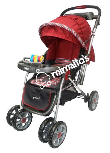 coche para bebe marca priori manija reversible ref. supra