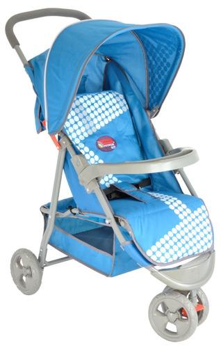 coche para bebe paseador fragola kids barra reversible