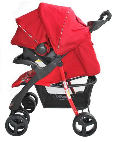 coche para bebe + silla carro + base incluida bebesit matix