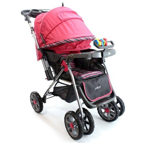 coche para bebé + silla para carro + portabebé 4 en1 priori