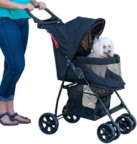 coche para gatos y perros pet gear n-zip happy azul