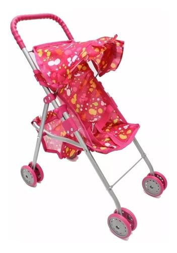 coche para muñecas nena cochecito paraguita love 4960