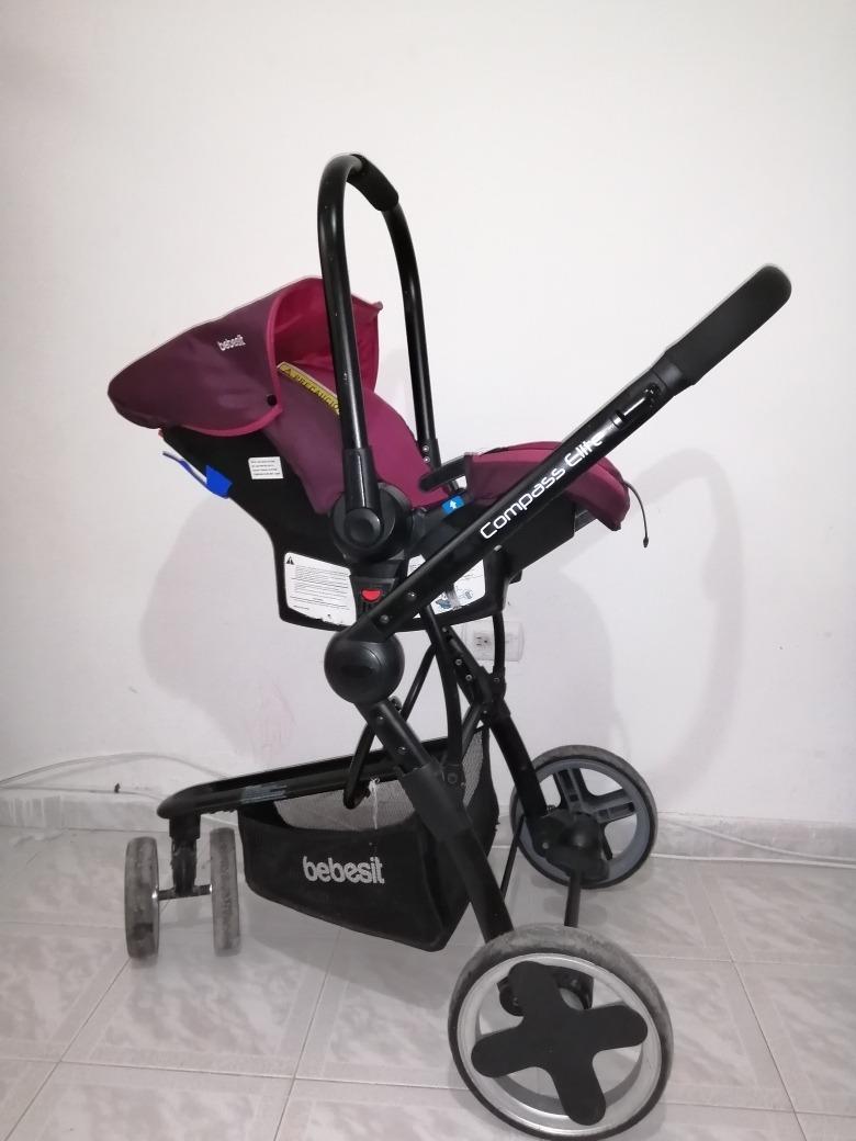 coche para niña travel system compass elite