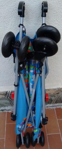 coche paragua 3 posiciones para bebe original flipper