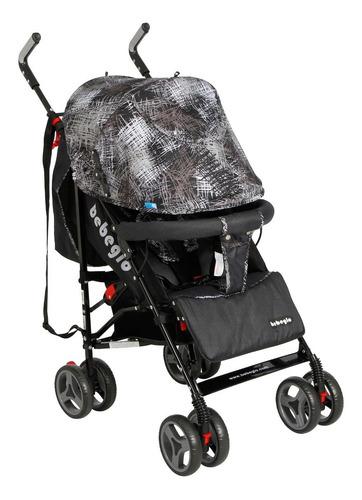 coche paragua bebeglo gris