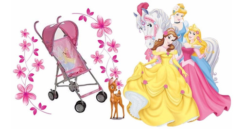 coche paragua disney princesas!!!!!!!!!!