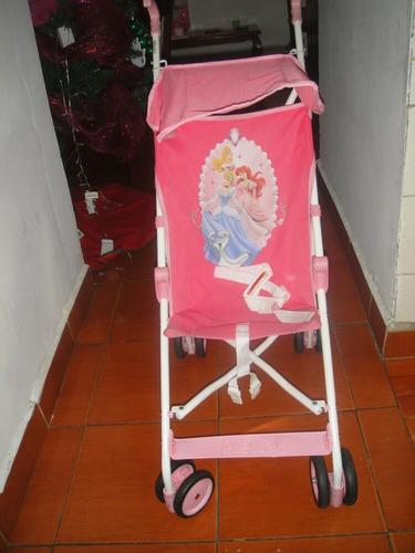 coche paragua princesa disney niña