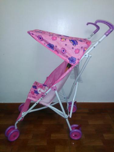 coche paraguas para niña disney original oferta