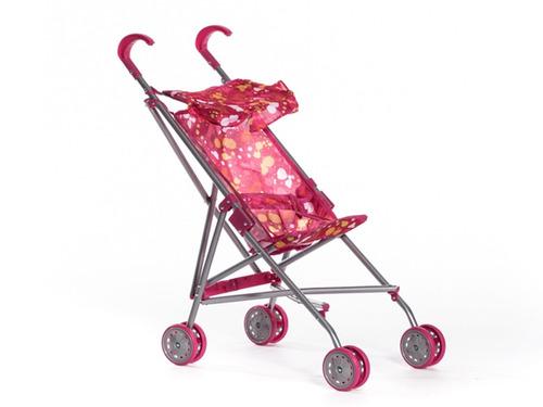coche paraguita de juguete para muñeca modelo loli 3016