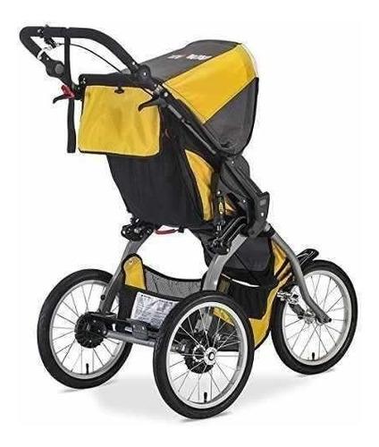 coche paseador bebe amarillo correr niño bob ironman
