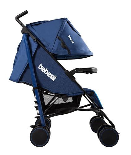 coche paseador bebe con bandeja y posiciones kronos bebesit