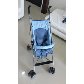 Coche Paseador Color Azul Para Bebé