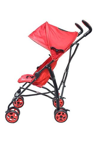 coche paseador rojo