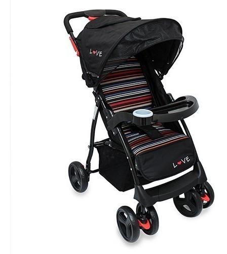 coche paseo bebe capota bandeja 18kg love babymovil 155