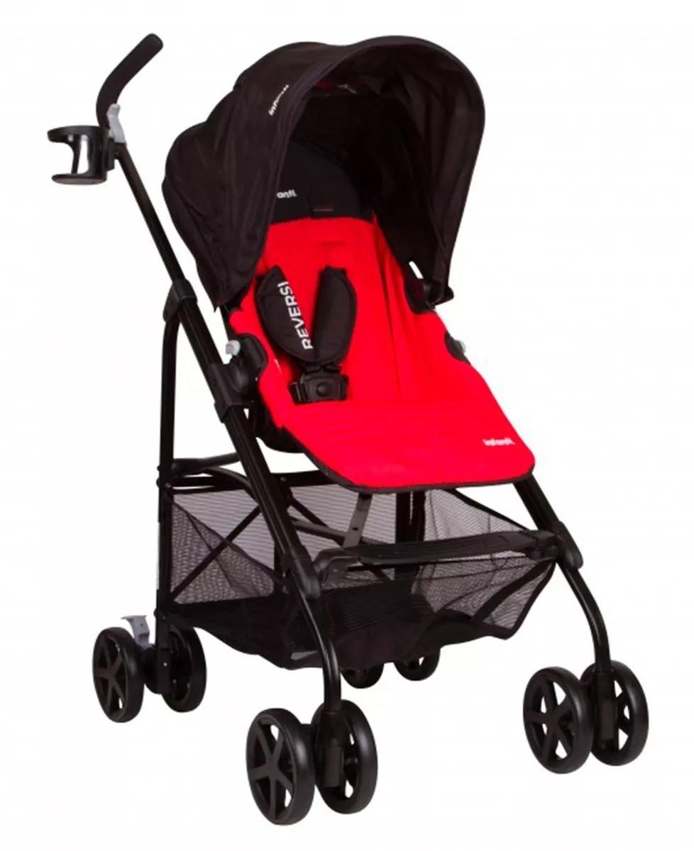 57c92e5a2 Coche Paseo Paraguita Reversible Bebes Infanti Reversi - $ 4.999,00 ...