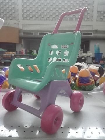 coche plástico o andadera para muñecas, juguete niña, regalo