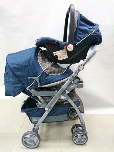 coche porta bebe 3 en 1 + canasta portabebe porta bebe