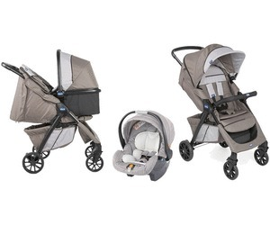 416cbba99 Coche Travel System Chicco Trio Kwik One Moka Con Base - $ 14.500,00 ...