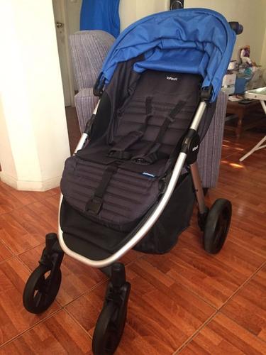 coche travel system epic sport infanti azul con huevito